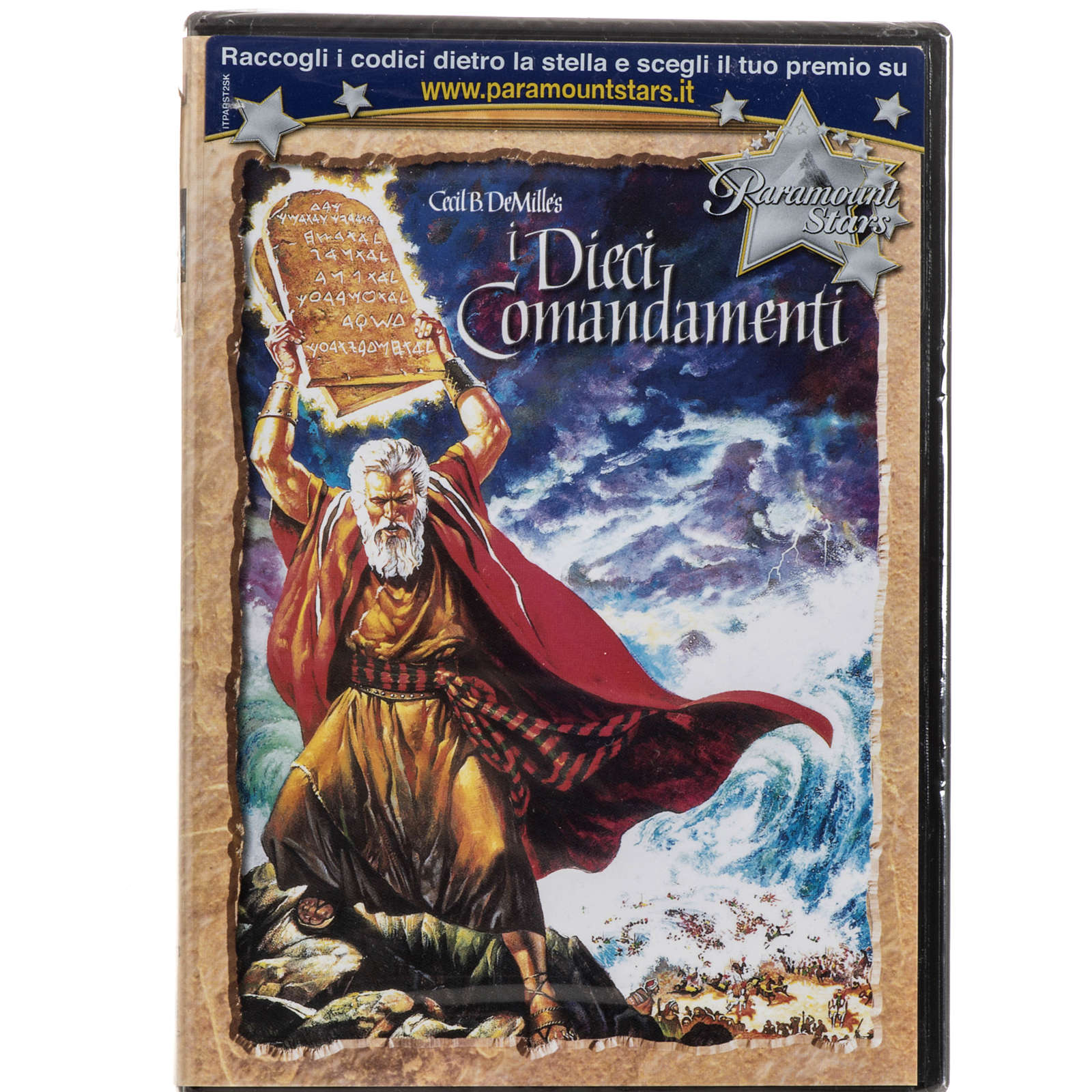 Los Diez Mandamientos DVD 3