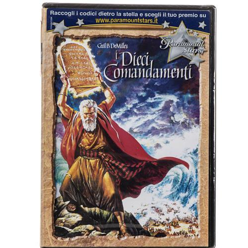 Los Diez Mandamientos DVD 1