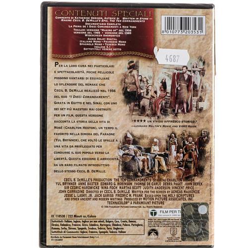 Los Diez Mandamientos DVD 2