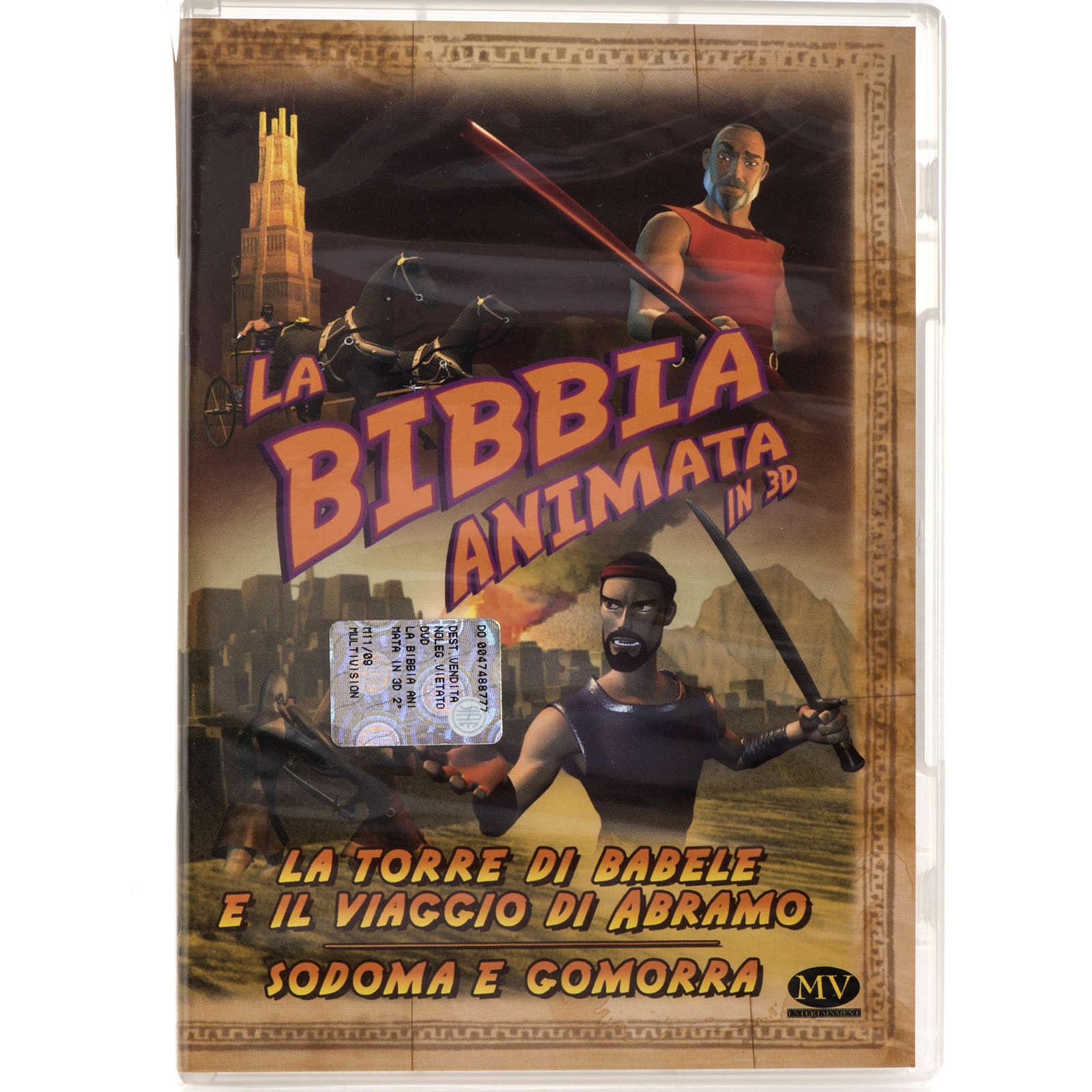 La torre di Babele e viaggio di Abramo - Sodoma e Gomorra 3