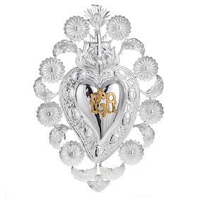 Exvoto Corazón llama ángel decoraciones 22,5 x 34 s1