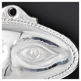 Ex-voto Olhos Prata 925 ou Metal 8,5x4,5 cm s2