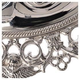 Ex-voto yeux perforés  argent 925 ou métal 13x8 cm s2