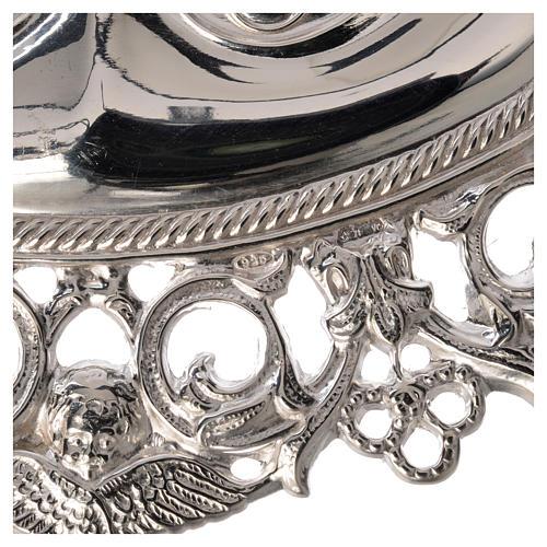 Ex voto occhi traforati argento 925 o metallo 13x8 cm 2
