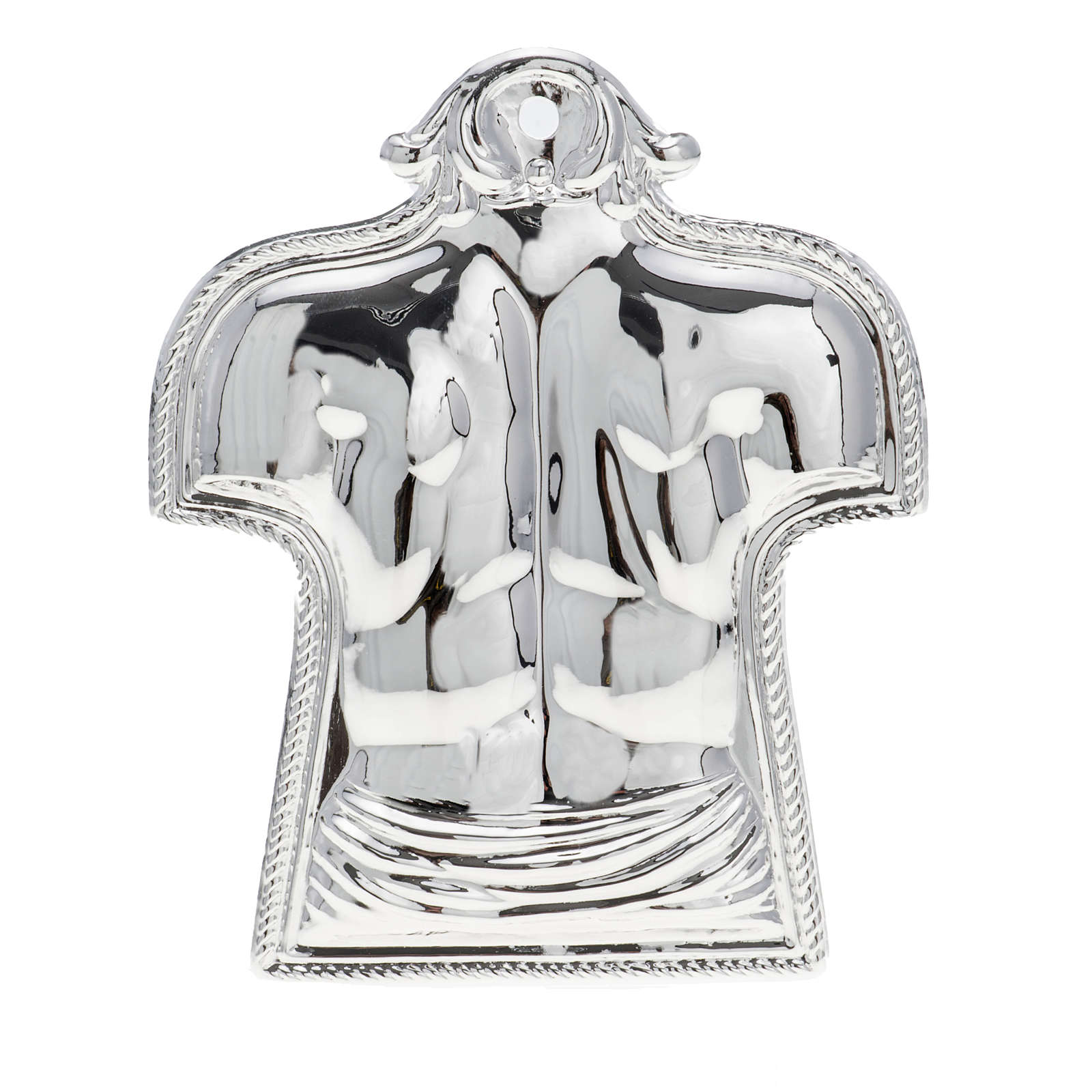 Ex-voto, back and shoulders in sterling silver or metal 3