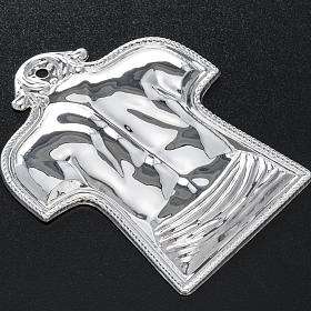 Ex-voto, back and shoulders in sterling silver or metal s2