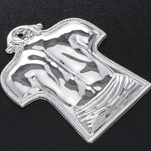 Ex-voto, back and shoulders in sterling silver or metal 2