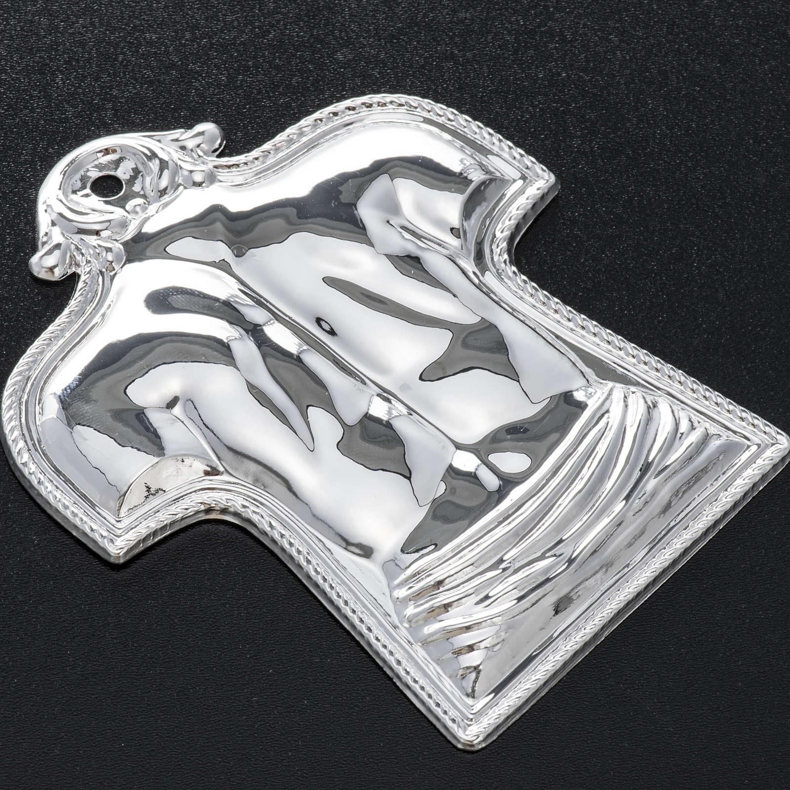 Ex-voto espalda y hombros plata 925 o metal 3