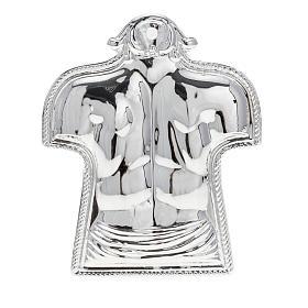 Ex voto schiena e spalle argento 925 o metallo s1