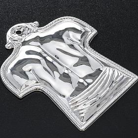 Ex voto schiena e spalle argento 925 o metallo s2