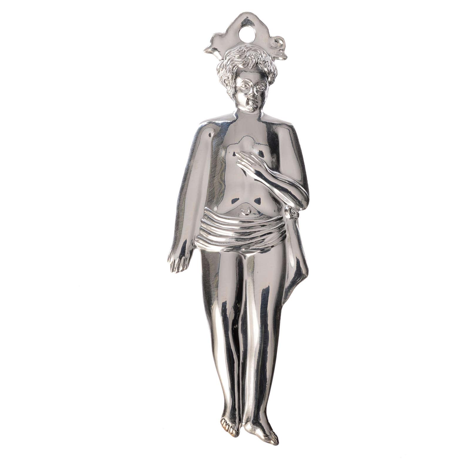Ex-voto niño plata 925 o metal 12.5 cm. 3