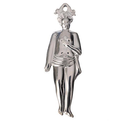 Ex-voto niño plata 925 o metal 12.5 cm. 1