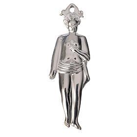 Ex-voto Menino Prata 925 ou Metal 12,5 cm s1