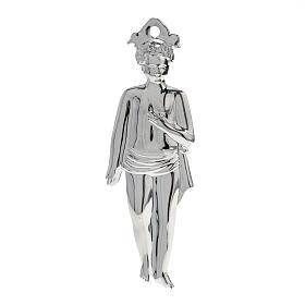 Ex-voto niño plata 925 o metal 15 cm. s1