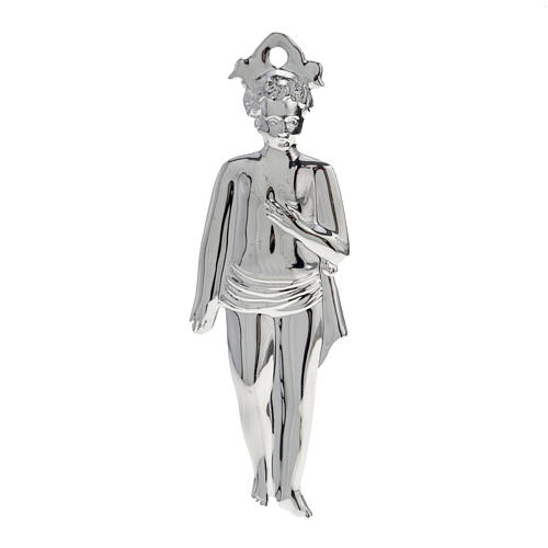 Ex voto bambino argento 925 o metallo 15 cm 1