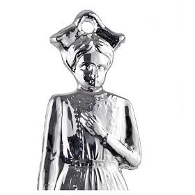 Ex-voto niña plata 925 o metal 15 cm. s2