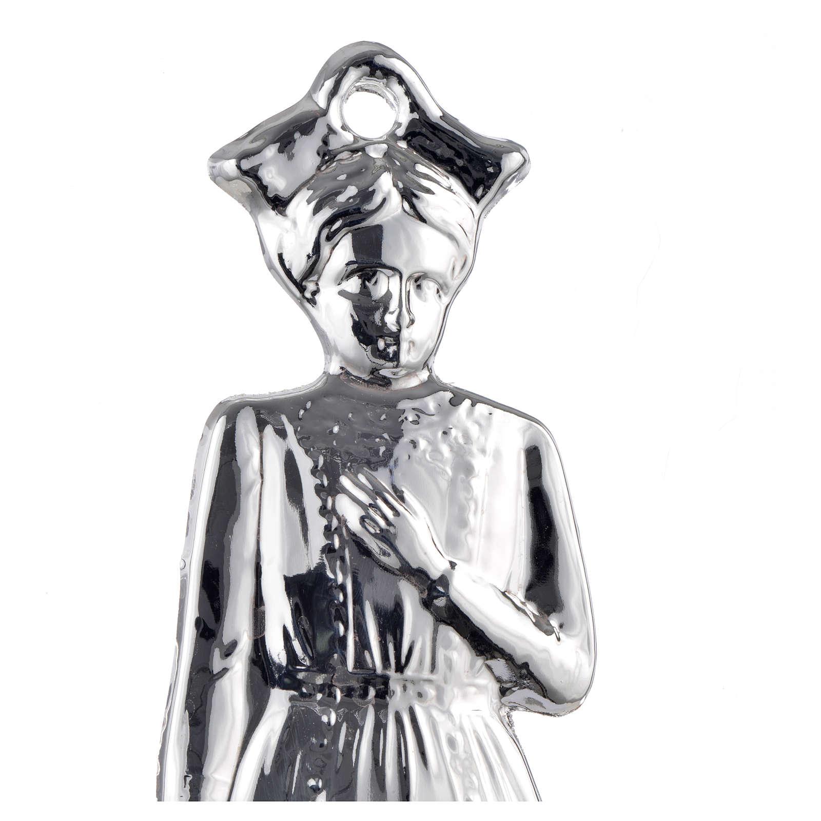 Ex-voto enfant argent 925 ou métal 15 cm 3