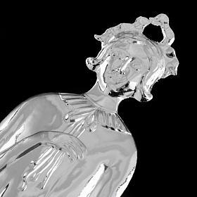 Ex voto donna argento 925 o metallo 20 cm s2