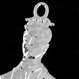 Ex-voto, man in sterling silver or metal, 21cm s3