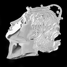 Ex-voto cabeza de niño plata 925 o metal 12 cm. s2