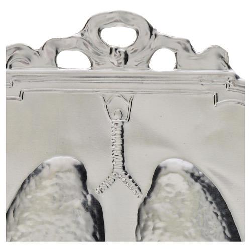 Ex voto polmoni 12x9 cm 2