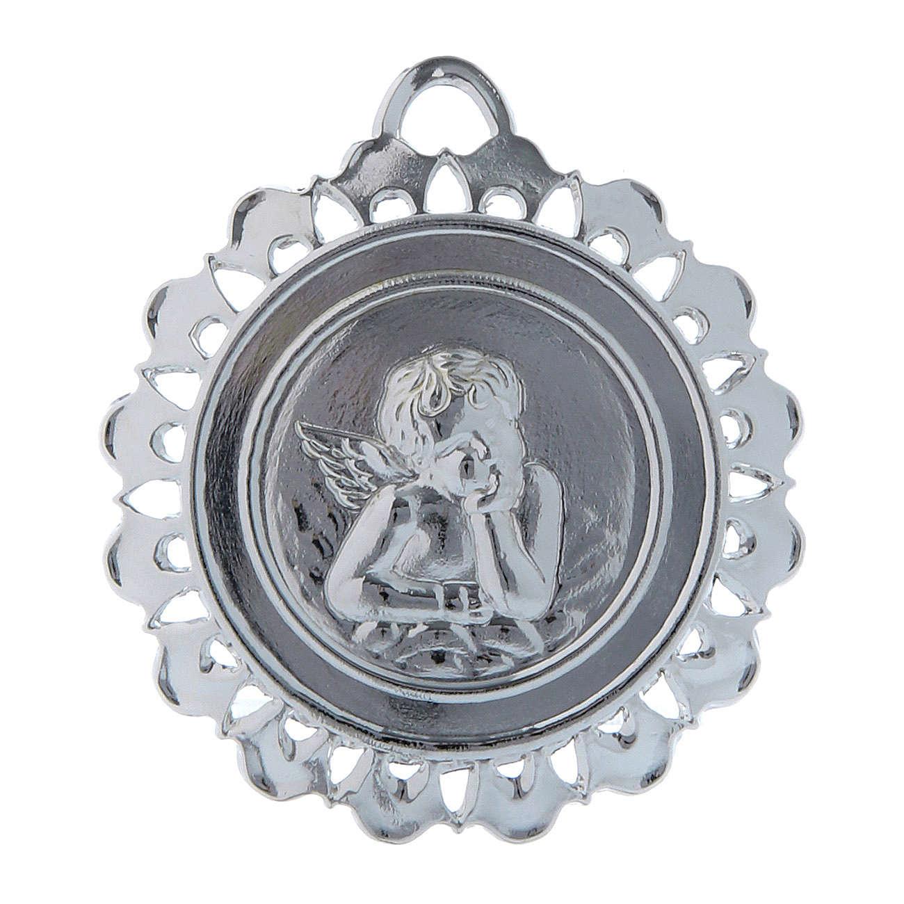 STOCK Medallion in metal, ex-voto 5 cm 3