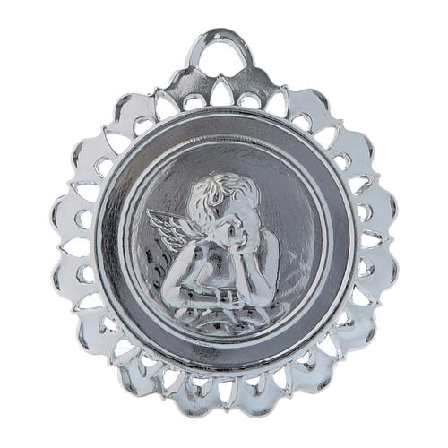STOCK Medallón Votivo metal diámetro 5 cm 1