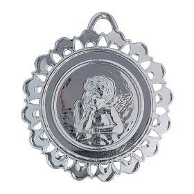 STOCK Medaglione Votivo metallo diametro 5 cm s2