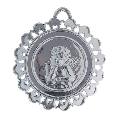 STOCK Medaglione Votivo metallo diametro 5 cm 2