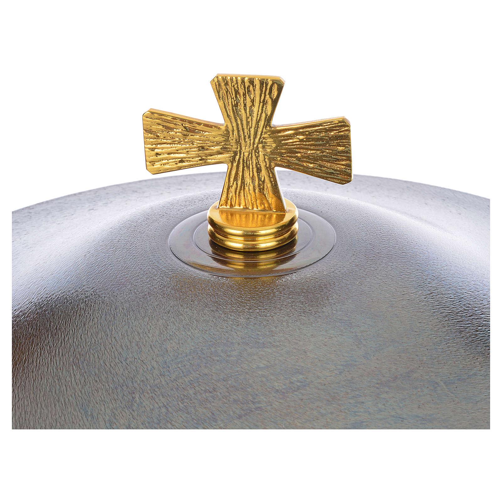 Fuente Bautismal bronce 4
