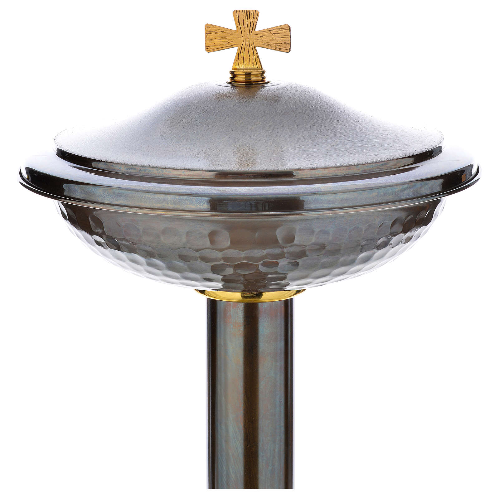Font baptismal en bronze 4