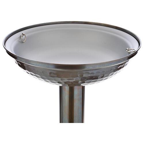 Font baptismal en bronze 3