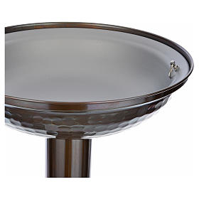 Fonte battesimale in bronzo s11