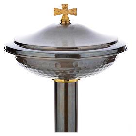 Fonte battesimale in bronzo s15