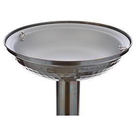 Fonte battesimale in bronzo s16