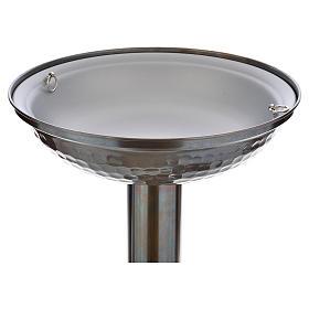 Fonte battesimale in bronzo s3