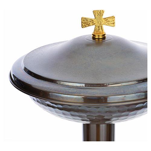 Fonte battesimale in bronzo 9