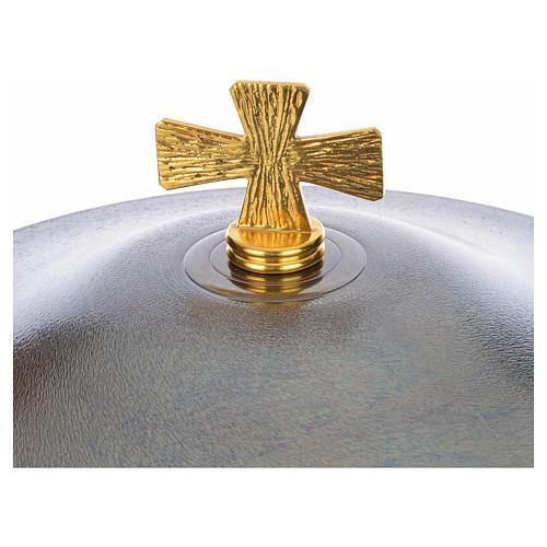 Fonte battesimale in bronzo 10