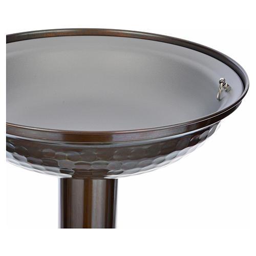 Fonte battesimale in bronzo 11