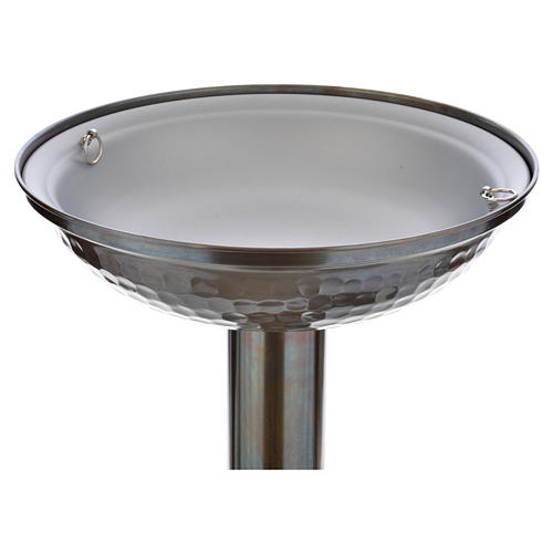 Fonte battesimale in bronzo 16
