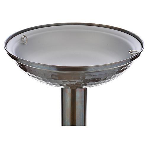 Fonte battesimale in bronzo 3