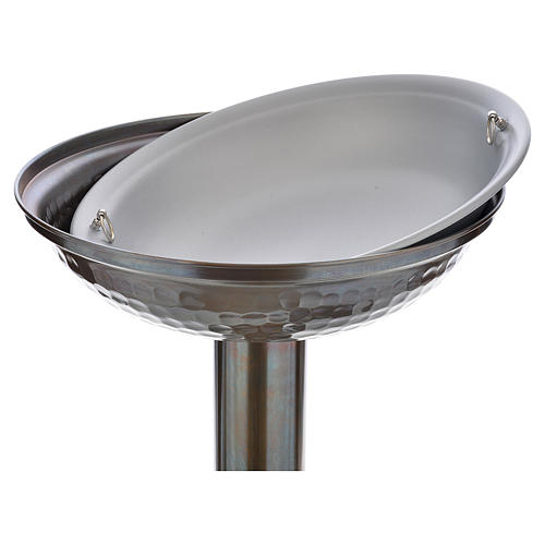 Fonte battesimale in bronzo 4