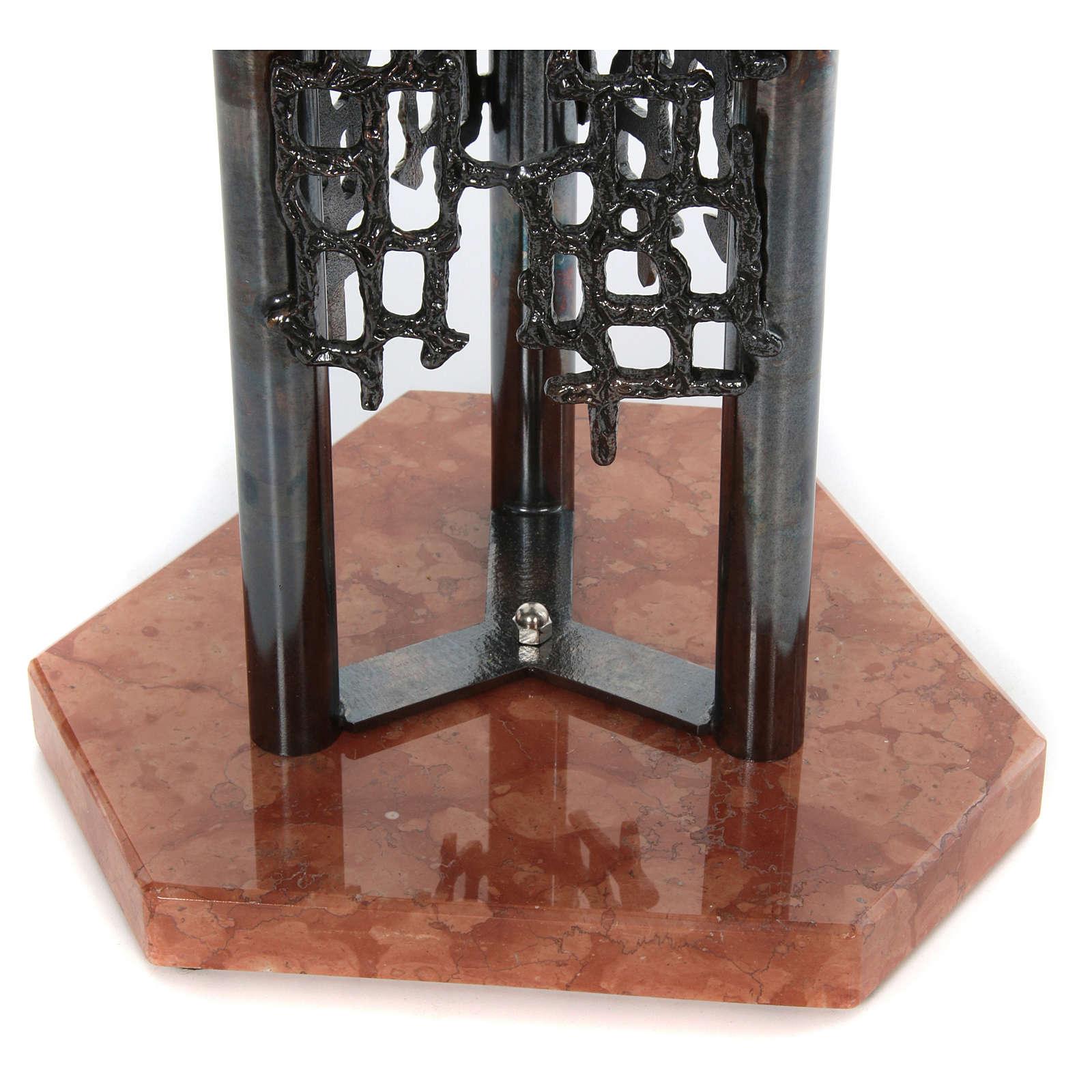 Modernes Taufbecken aus Bronze 4
