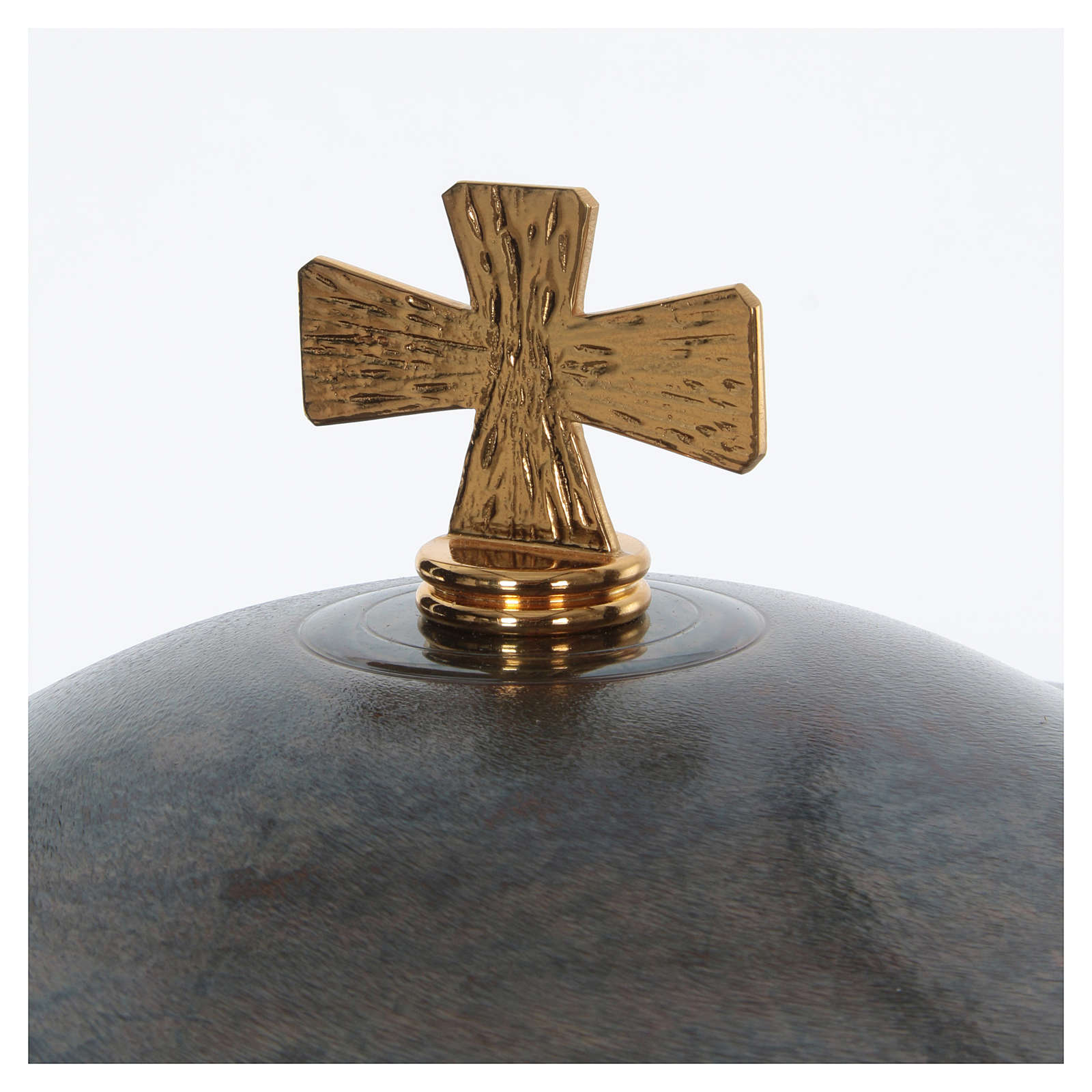 Bronze baptismal font modern style 4