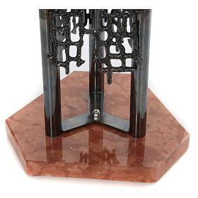 Fuente bautismal moderna de bronce s5