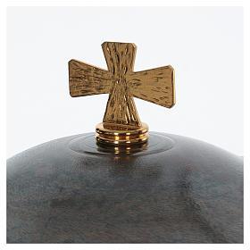 Font baptismal moderne en bronze s3