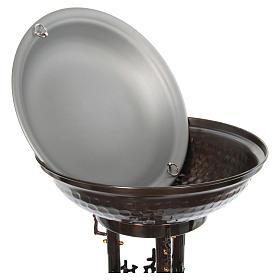 Font baptismal moderne en bronze s7