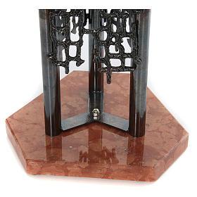 Fonte battesimale moderno in bronzo s5