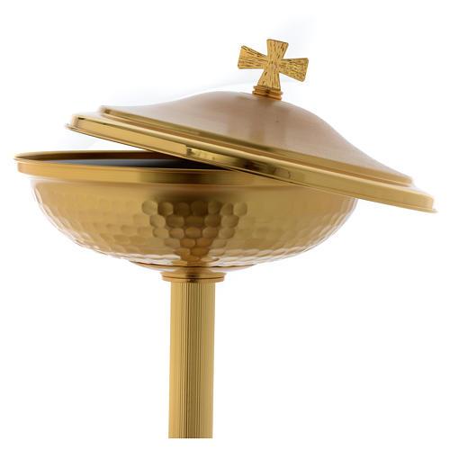 Taubecken Putten, aus goldener Bronze 3