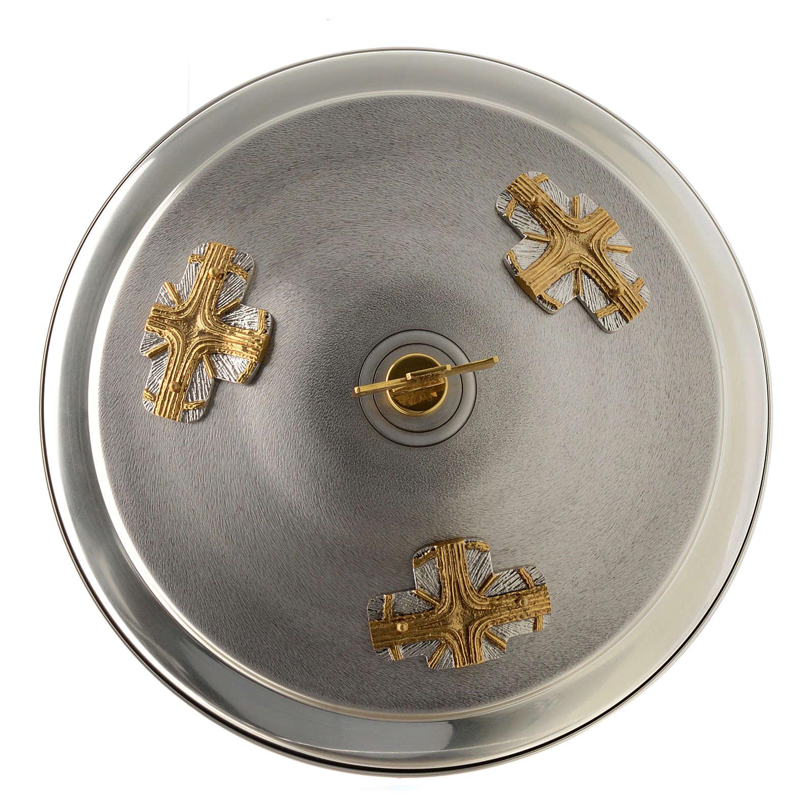 Taufbecken goldene und silbrige Bronze 4